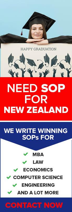 best sop for new zealand, student visa pdf